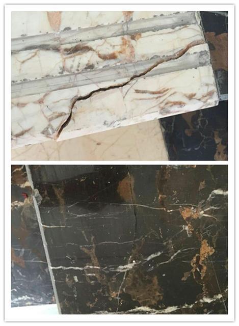 陶瓷等的裂缝及断裂面修补